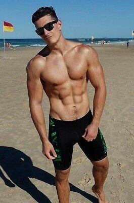 Shirtless Muscle Male Beefcake Handsome Sexy Beach Hunk Hot Body PHOTO 4X6 F1847