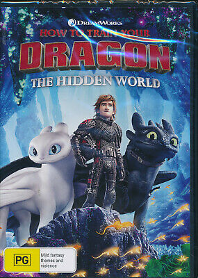 How to Train Your Dragon: The Hidden World DVD NEW Region 4