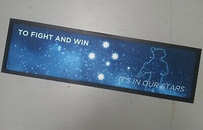 To Fight & Win Southern Cross Bar Runner - Rubber Backed Mat New Aussie & Kiwi