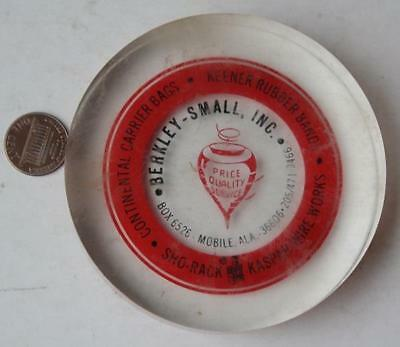 1960-70s Era Mobile,Alabama Berkley-Small Rubber Bands-Carrier Bags Paperweight*