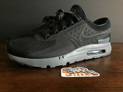 NIKE AIR MAX Zero QS 789695 001 Blackdark Grey Size 9 NEW
