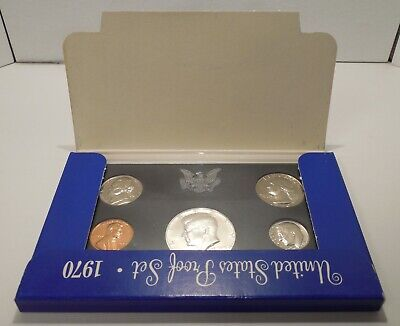 1970-S - No S Dime - No S Mint Mark on Dime - United States Proof Set