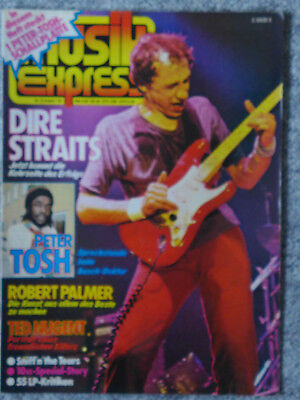 Musik Express 8/1979 Dire Straits, Peter Tosh, Ted Nugent, Robert Palmer