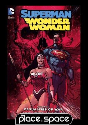 Superman Wonder Woman Vol 03 Casualties Of War - Hardcover