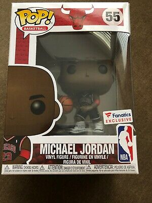 Funko Pop #55 NBA Chicago Bulls Michael Jordan Fanatics Exclusive *CONFIRMED*
