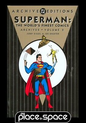Superman In Worlds Finest Archives Vol 02 - Hardcover