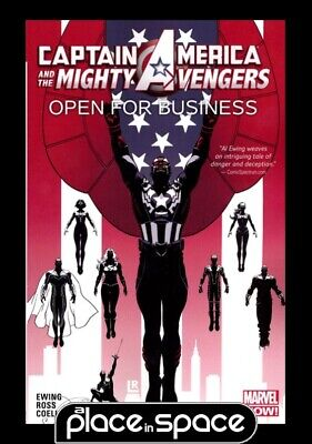 Captain America Mighty Avengers Vol 01 Open For Business - Softcover