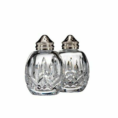 Waterford Crystal Lismore Salt and Pepper Set, Bad Box*