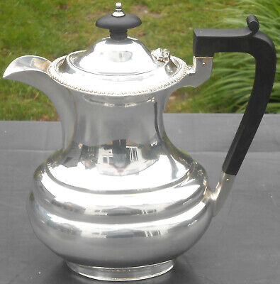 Mappin & Webb Silver Plated Water Jug - Vintage - Gleaming