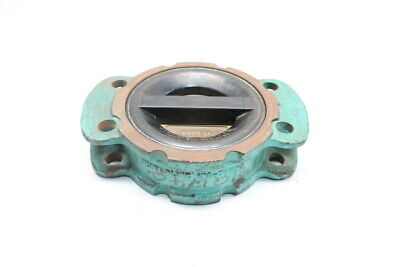 Center Line CLC4-4 Iron Wafer 4in Check Valve
