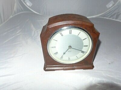 Smiths Sectric electric bakelite mantel clock brown Spares