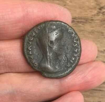 Roman. Faustina Senior (Wife Of Antoninus Pius). Copper As.