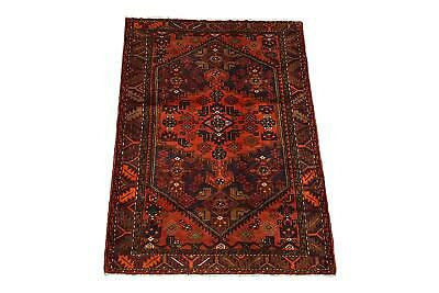 Persian 4X7 Sarab 1940's Antique Hand-Knotted Area Rug Wool Carpet (4.3 x 6.6)