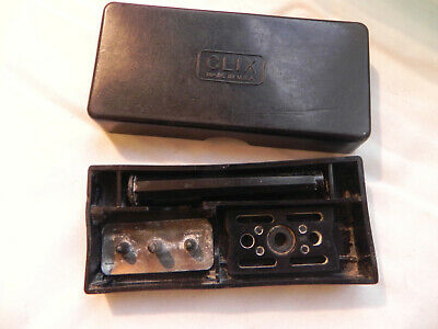 Vintage Clix Safety Razor w/ Carrying Case