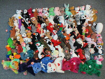 5284a04a6f1 ~~105 Ty Beanie Babies Boo   Buddies Collection Lot -Wholesale Bulk Sale  Beanies