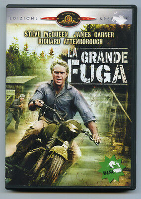 DVD - LA GRANDE FUGA [The Great Escape] (1963) by John Sturges - 2 DVD REGION 2
