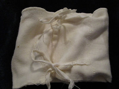 Vtg Infant Baby Doll Tummy Wrapper Umbilical Cord Protection COTTON