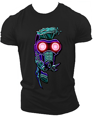 Star Lord Avengers Infinity War End Game Marvel Endgame Unisex T-Shirt Neon16
