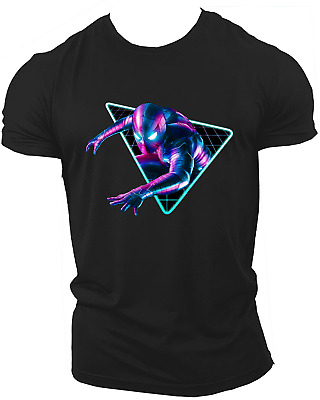 Spiderman Avengers Far From Home War End Game Marvel Endgame T-Shirt Neon10