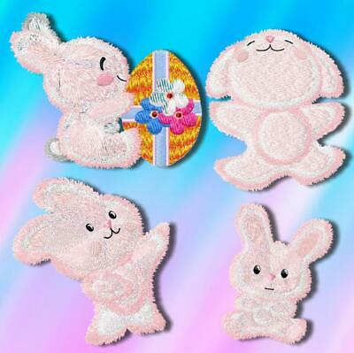 EASTER BUNNY 10 MACHINE EMBROIDERY DESIGNS CD or USB