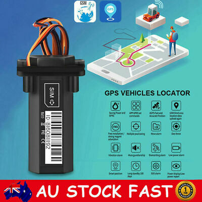 GPS GSM GPRS Tracker Live Realtime Vehicle Car Truck Spy Tracking Locator Device