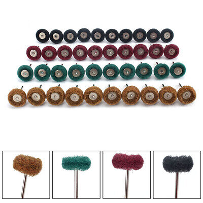 40Pcs Grinding Sanding Polishing Rotary Tools Wheel Accessory Kit Set For Dremel