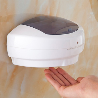 500ML Automatic Sensor Wall Mount Liquid Soap Dispenser Hands Free Wash Machine