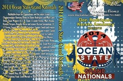 2014 Ocean State Grand Nationals Karate Martial Art Tournament DVD sparring kata