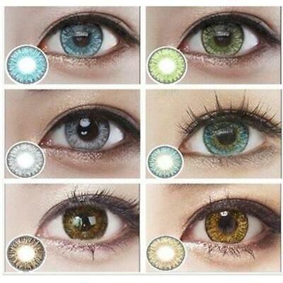 Lentilles de couleur -1 an- contact lenses coloured-lens colored Kontaktlinsen