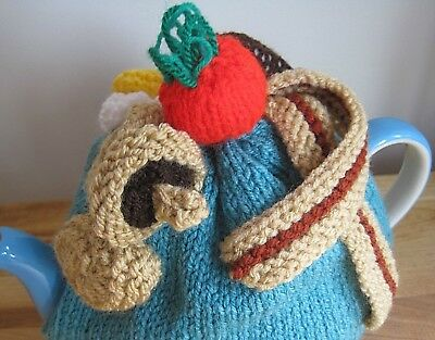 Hand Knitted Full English Breakfast Tea Cosy..weekend Treat. Lorry Driver