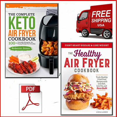 The Top Complete Keto Air Fryer + Healthy Cookbook Eb00k/PDF - FAST Delivery