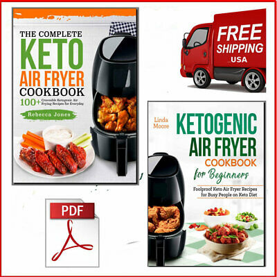 The Top Complete Keto Air Fryer + Ketogenic Cookbook Eb00k/PDF - FAST Delivery