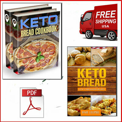 Keto Bread Cookbook 2019 + Keto Bread Eb00k/PDF FAST Delivery