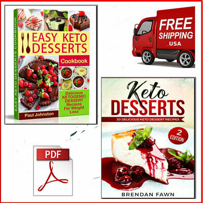The Top Easy Keto Desserts & Keto Cookbook 2019 Eb00k/PDF FAST Delivery