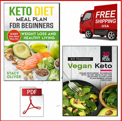 The Top 14 Day Keto Diet Meal Plan & 30 Day Vegan Keto Eb00k/PDF FAST Delivery