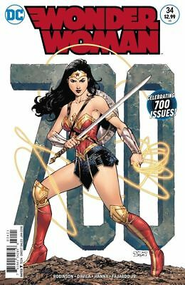 Wonder Woman #34 Celebrating 700 Issues Variant Cover NM (2017) DC Comics