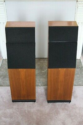 Naim SBL Loudspeakers in Walnut. Superb condition. New grills. Boxed