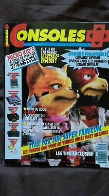 CONSOLES + PLUS n°17 MAGAZINE DE JEUX VIDEO NINTENDO SEGA XBOX PLAYSTATION
