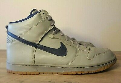 finest selection afa56 ed2ad Nike Id Air Force 1 High Grey Blue Colorway Gum Sole Size 13 Hardly Worn