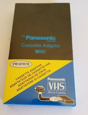 New Vhs-C Cassette Adapter Play Vhsc Video Tapes On Vcr Jvc Gr-Ax830 C3