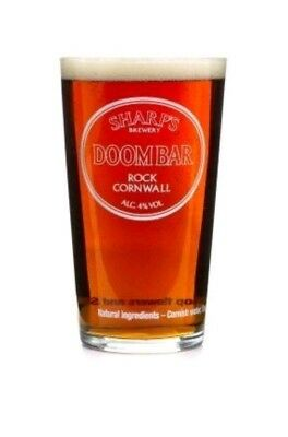 EASTER B.O.G.O.F DEAL DOOM BAR SHARPS BREWERY ALE PINT GLASS FATHER/'S DAY GIFT