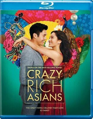 Crazy Rich Asians (Blu-ray + DVD) NEW