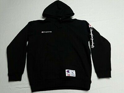 990469c7e2cf SUPREME CHAMPION HOODIE Hooded Sweatshirt Black XL Extra Large FW16 ...