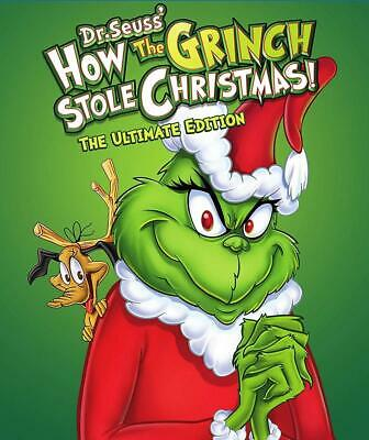How the Grinch Stole Christmas: Ultimate Edition (Blu-Ray / DVD) NEW