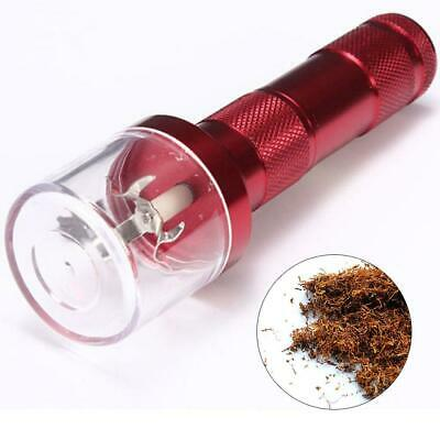 Electric Allloy Metal Grinder Crusher Crank Tobacco Smoke Spice Herb Muller EL