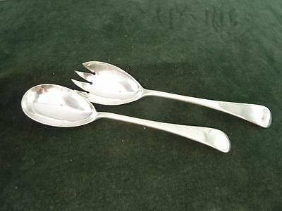 nice Vintage John Round & Sons Old English silver service cruets silver plated