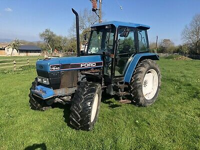 Ford 7840 SLE Tractor. N Reg. New Holland. Straight Tractor