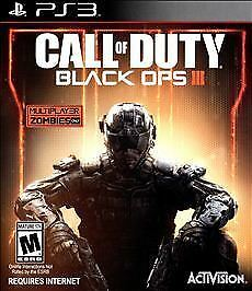 Call of Duty: Black Ops III (Sony PlayStation 3, 2015) FREE SHIPPING