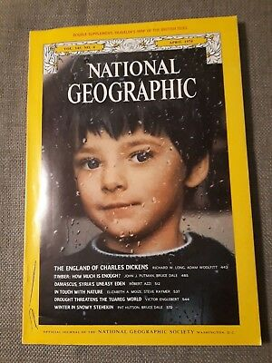 National Geographic April 1974 Charles Dickens England Timber Damascus Stehekin