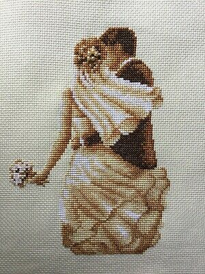 Personalised Completed Cross Stitch Wedding/marriage Sampler Unframed